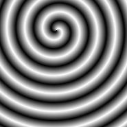Spiral Background Black&White