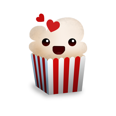 Installation free software popcorn-time watch / download movies.