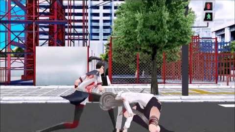 【MMD】Fight 【Yandere Sim】
