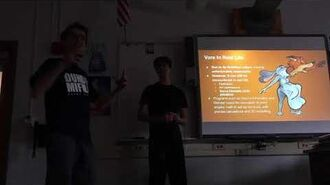 Presenting a vore project in algebra 2