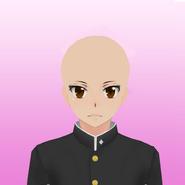 Female in male uniform base by kamiko