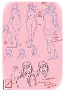 Yandere simulator s yandere mom sketches by kjech-da2q887