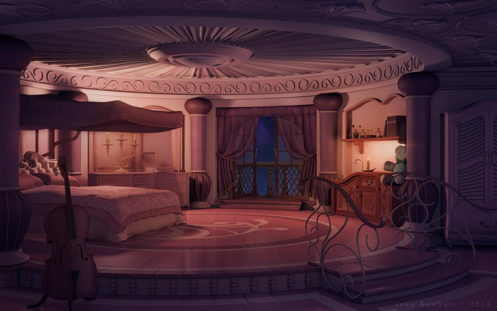 Princess Room Night Final W By Jakebowkett D8pw43i