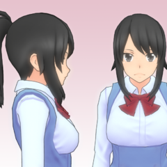 A redesigned version of her default hair, shown off on May 27th, 2016.
