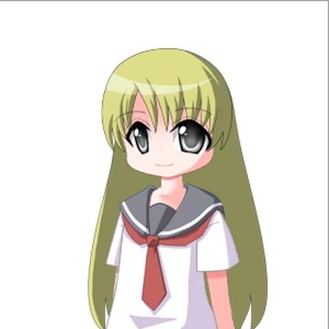 Mayumi in AnimeGen