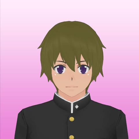 Alternate version of Takashi's portrait (without goggles)