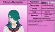 Chiyo akiyama profile