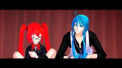 MMD x Yandere Simulator OCs How Chrys acts around Ai Ai Hayashi & Chrys Lawliet