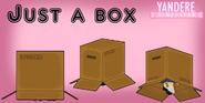 Modèle boîte en carton