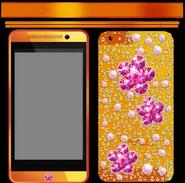 Texture téléphone Hana