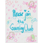 Gaming club affiche