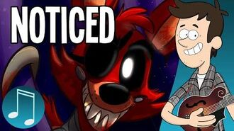 """""""Noticed"""" - Five Nights at Freddy's song by MandoPony"""