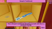 Senpai's Toothbrush