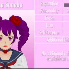 Kizana's 1st profile if the JSON file is edited. May 19th, 2017.