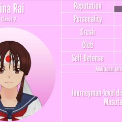 Mina's 9th profile. November 24th, 2019.