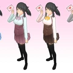 Variantes de uno de los uniformes