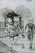 Аяно убегает от Киоши