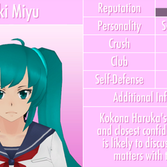 Saki's 12th profile. March 8th, 2017.