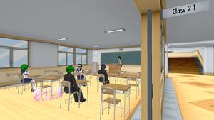 Classroom 2-1 Feb 15th