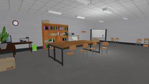 Stary pokój nauczycielski