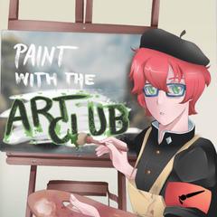 Poster actual del Club de Arte ubicado en la zona de los casilleros. Este poster fue dibujado por la artista <a rel=