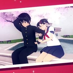 Senpai dan Hanako dalam