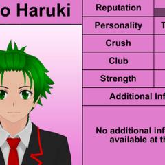Oitavo perfil de Hayato.