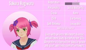 SakuraHagiwaraProfileNovember19th2019