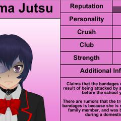 Quarto perfil de Kokuma.