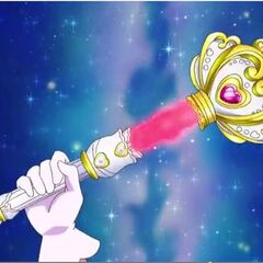 A Crystal Princesa Rod do anime Go! Princesa Pretty Cure .
