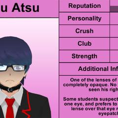 Quarto perfil de Daku.