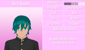 Sora Sosuke Profile