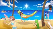 Yandere-chan z rywalkami w New Gameplay Mode in Yandere Simulator Mission Mode