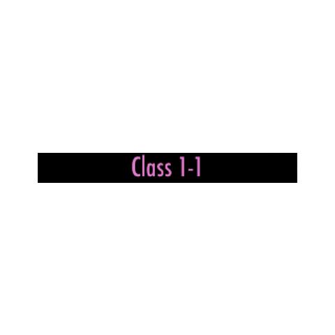 Classroom 1-1 <a href=
