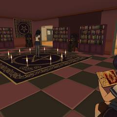 Occult Club after school.