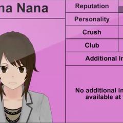 Reina Nana's 2nd profile.