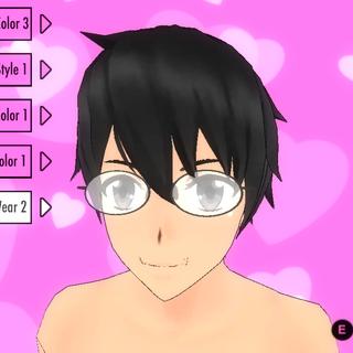 Eyewear #2 (Oval Shaped Glasses)
