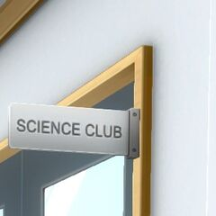 Science Club sign. July 12th, 2016.