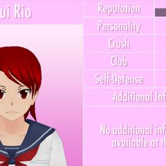 Nono perfil de Yui.