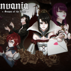 <i>Yanvania</i> title screen. February 2nd, 2016.