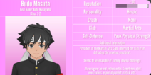 Budo Masuta Profile July 1st 2020