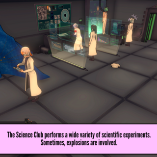New science club activity.