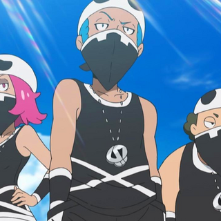 Team Skull Grunts from the <i><a href=