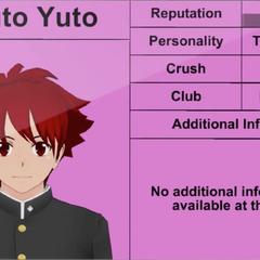 Quarto perfil de Haruto.
