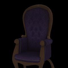 Modelo de una de las sillas del club por <a rel=