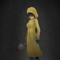 Yandere-chan wearing a yellow <a href=