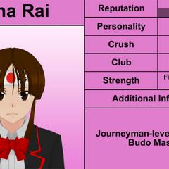 Quinto perfil de Mina.