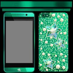 Texture of Hoshiko's phone from the game files.