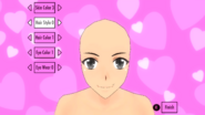 Shaved Male Hairstyle