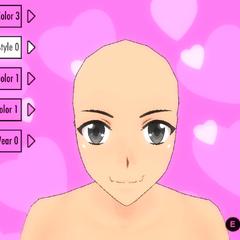 前輩頭髮造型(舊版本)#11